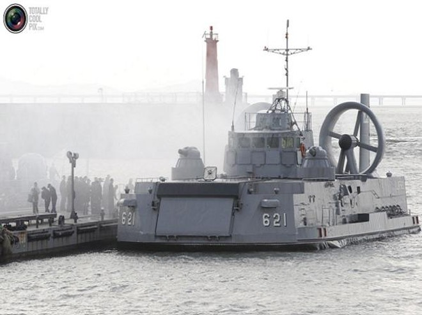 Tàu đệm khí Murena-E trong biên chế quân đội Hàn Quốc