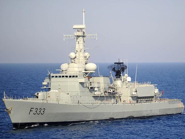 Một chiếc tàu thuộc biên chế Hải quân Bồ Đào Nha