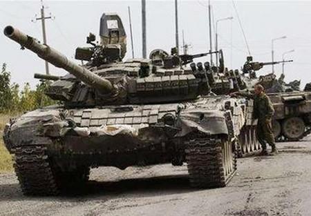 Kiev lại tố Nga đưa xe tăng vào miền đông Ukraine. Ảnh minh hoạ