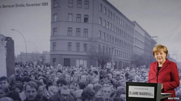 Thủ tướng Đức Angela Merkel hồi tưởng lại ký ức về mùa thu năm 1989