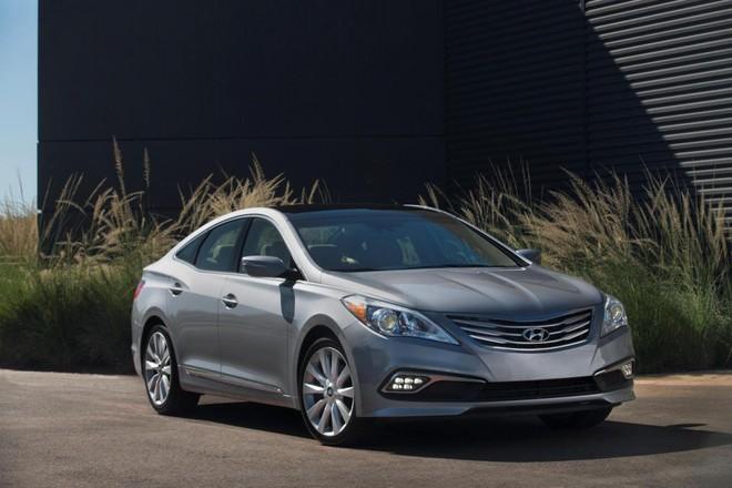 Hyundai chính thức trình làng mẫu xe Azera 2015 ảnh 1
