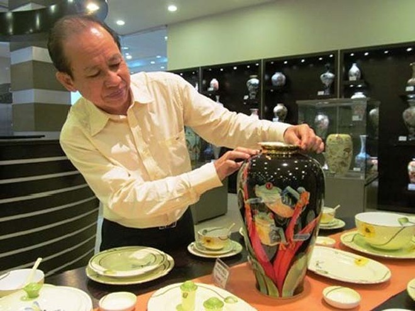 Công ty gốm sứ Minh Long I khai trương showroom đầu tiên tại miền Bắc ảnh 1