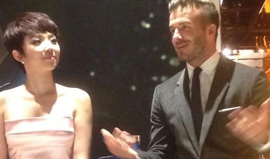 """Beckham: """"Tôi sẽ trở lại để ăn đồ vỉa hè Việt Nam"""" ảnh 1"""
