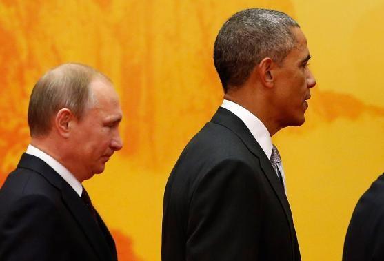 Ông Obama và ông Putin luôn là tâm điểm của giới truyền thông trong Hội nghị APEC