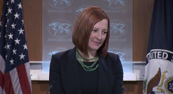Phát ngôn viên Bộ Ngoại giao Mỹ Jen Psaki