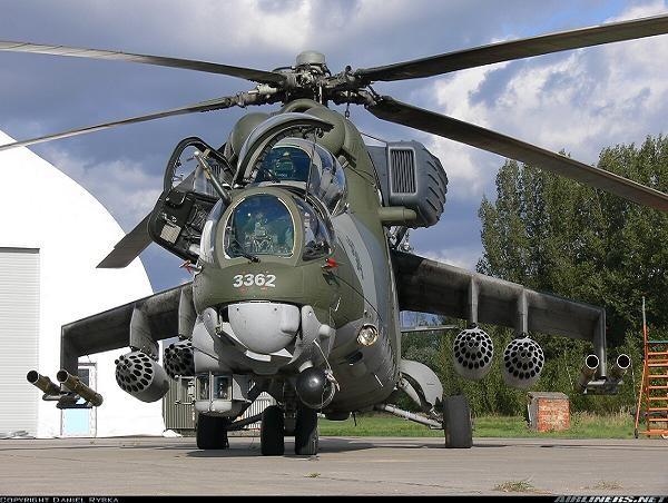 Trực thăng tấn công Mi-35 của Nga