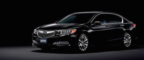 Honda chính thức trình làng mẫu xe Legend 2015 ảnh 1