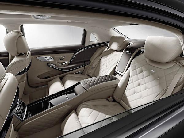 Mercedes hé lộ hình ảnh nội thất sang trọng của Maybach S600 ảnh 2