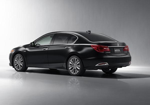 Honda chính thức trình làng mẫu xe Legend 2015 ảnh 5