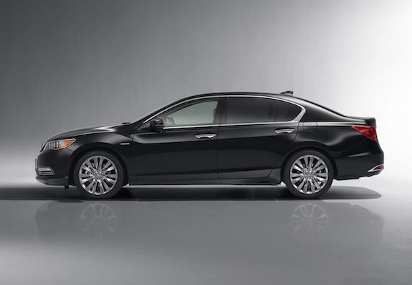 Honda chính thức trình làng mẫu xe Legend 2015 ảnh 4