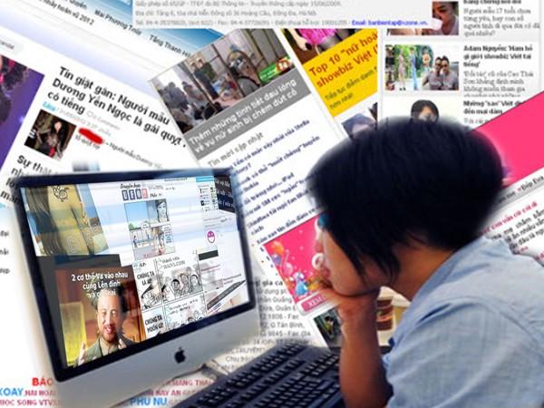 Xử lý nghiêm các vi phạm tại các trang thông tin điện tử, mạng xã hội sẽ giúp đời sống báo chí lành mạnh hơn. Ảnh minh họa: Phú Khánh