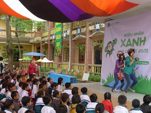 Ford Việt Nam tiếp tục tổ chức sân chơi trẻ em