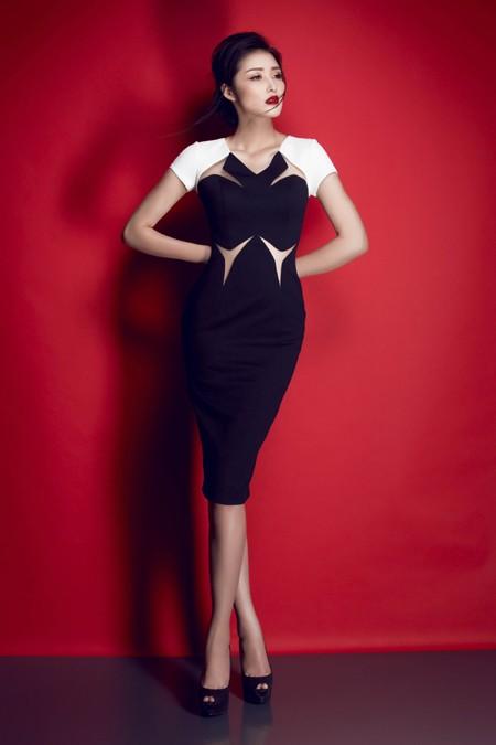 Hoa hậu Triệu Thị Hà gợi cảm với thời trang cut-out ảnh 8