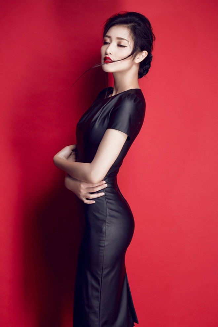 Hoa hậu Triệu Thị Hà gợi cảm với thời trang cut-out ảnh 9