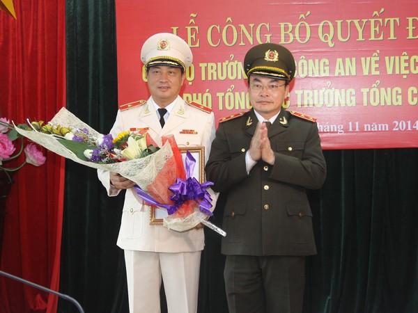 Thiếu tướng Đỗ Ngọc Cẩn được bổ nhiệm Phó Tổng cục trưởng Tổng cục XDLL CAND ảnh 1