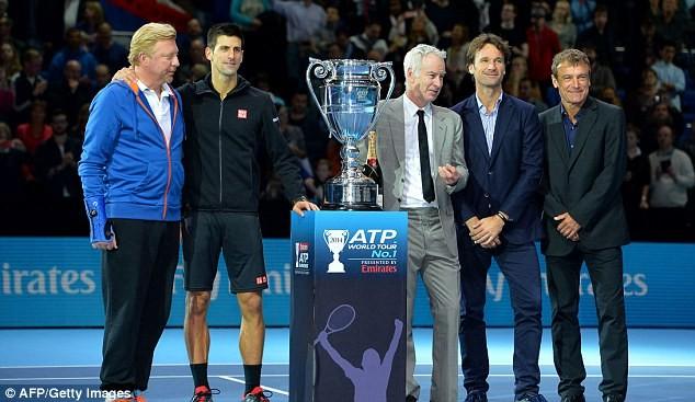 """Novak Djokovic vui mừng khôn siết khi giành """"chiến thắng kép"""" ảnh 2"""