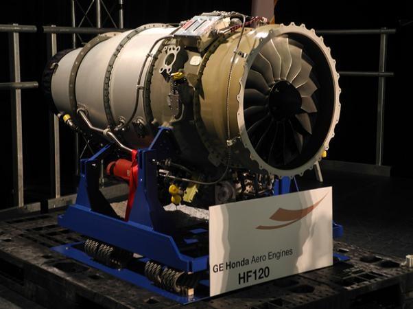 Động cơ phản lực cánh quạt HF120 của Honda