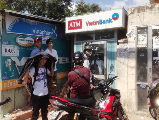 Băng trộm đi ô tô nạy phá buồng máy ATM ảnh 1