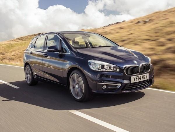 BMW ra mắt phiên bản plug-in hybrid cho 2-series Active Tourer vào năm 2015 ảnh 1