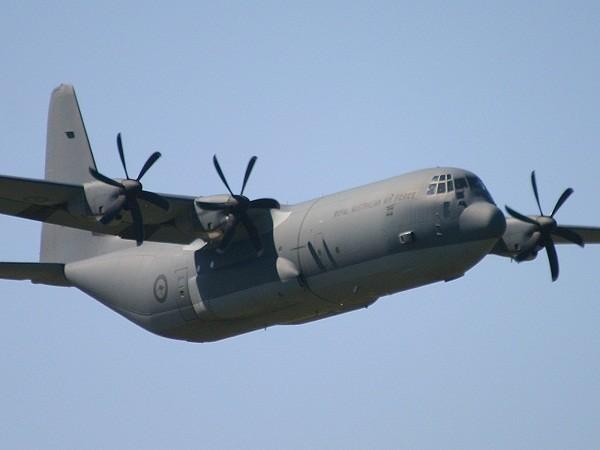 Máy bay vận tải C-130J do Mỹ chế tạo