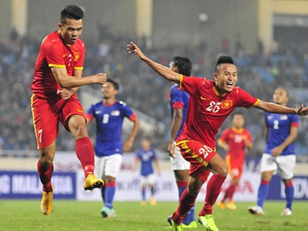 Đội tuyển Việt Nam đã có một chiến thắng đúng lúc Ảnh: Phan Quân