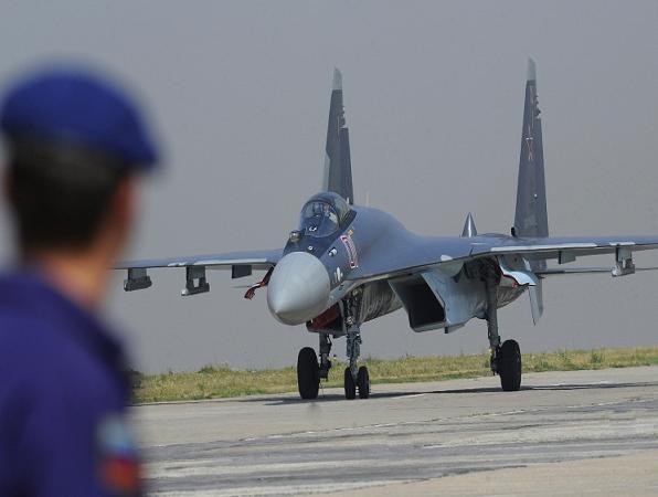 Máy bay chiến đấu Su-35 của Nga