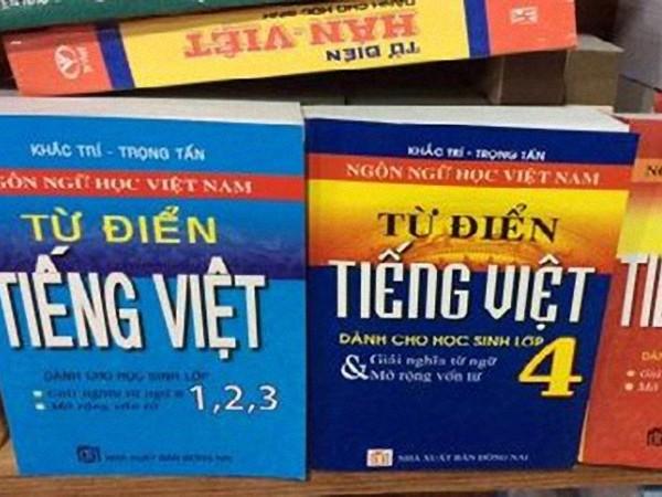Rà soát thu hồi 8 cuốn từ điển tiếng Việt của nhà xuất bản Đồng Nai
