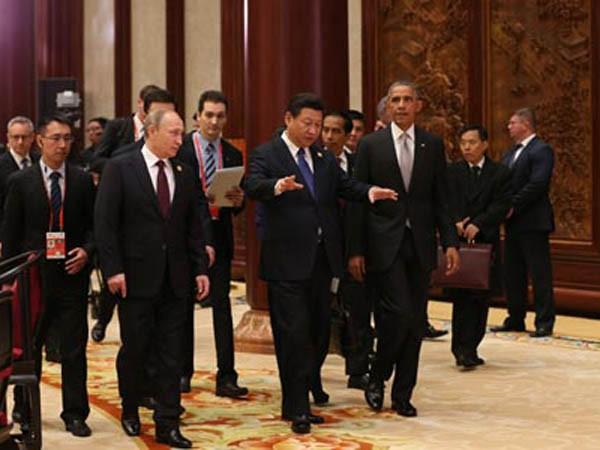 Lãnh đạo Nga, Trung, Mỹ trong Hội nghị thượng đỉnh APEC