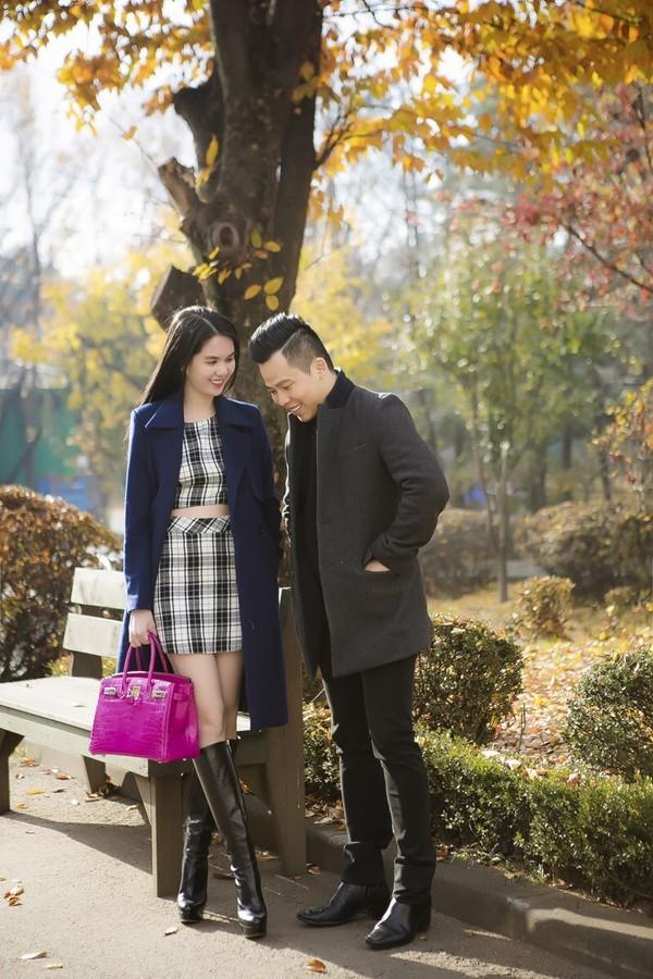 """Ngọc Trinh đẹp kiêu sa ở Hàn Quốc, nhẹ nhàng """"kiếm"""" cả tỷ đồng ảnh 13"""
