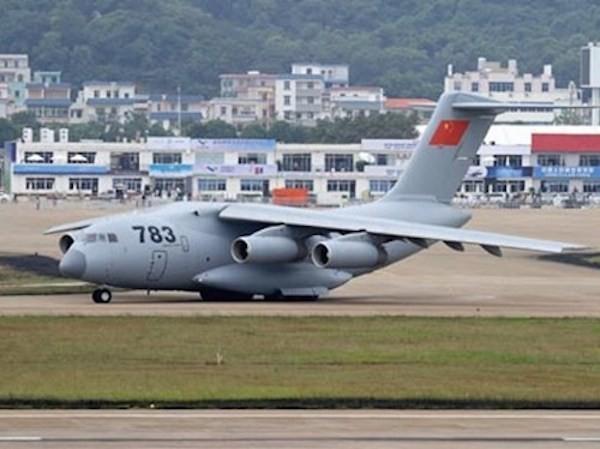 Quân đội Trung Quốc cơ động hơn nhờ máy bay vận tải ảnh 1