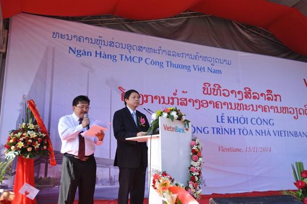 Khởi công xây dựng tòa nhà Vietinbank tại Lào ảnh 3