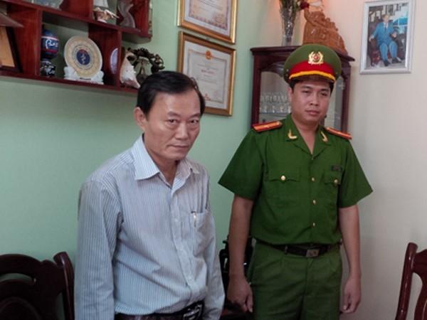 Đối tượng Nguyễn Đình Tân