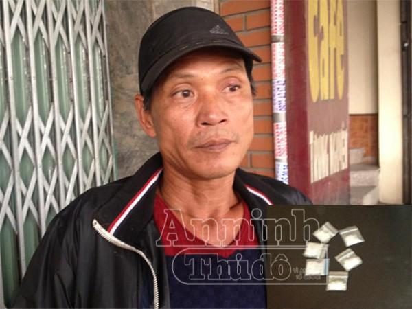 Đối tượng Thuận hiện đang mắc HIV/AIDS và đã có 7 tiền án trước đó