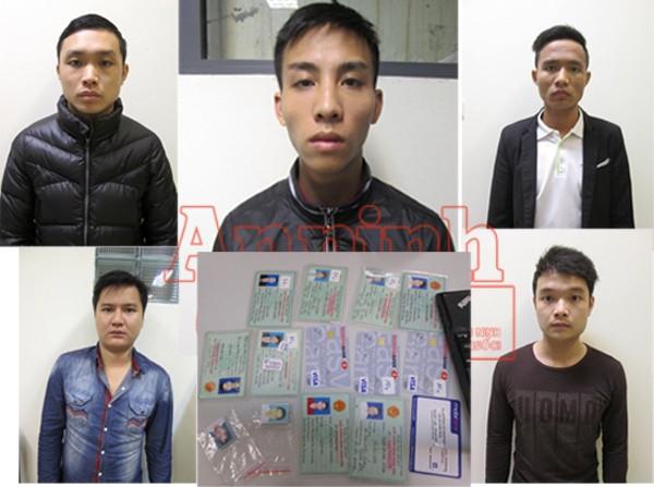 Nhóm đối tượng do Vũ Văn Đại cầm đầu bị bắt giữ