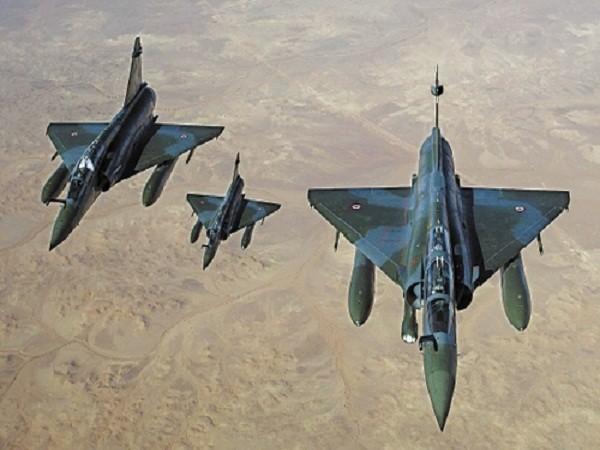 Tiêm kích đa nhiệm Mirage 2000D của không quân Pháp
