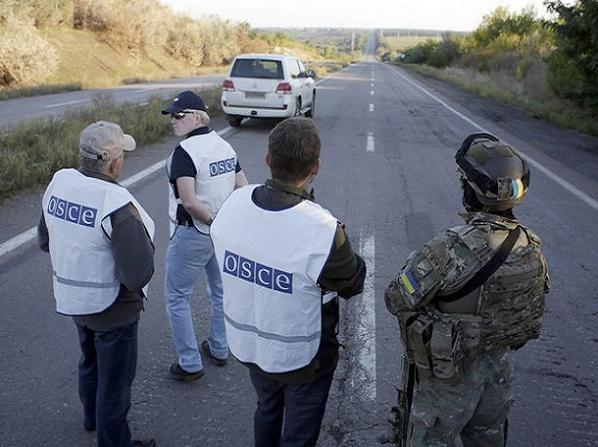 Phái đoàn quan sát viên của OSCE triển khai tại Ukraine