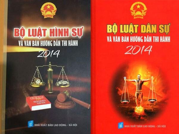 Hai cuốn sách luật mà Nhà xuất bản Lao động- Xã hội bị buộc phải thu hồi và xử phạt nặng