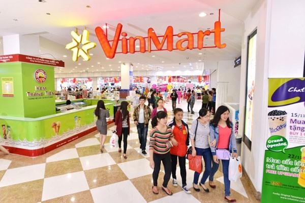 Các siêu thị VinMart có quy mô lớn, với diện tích lên đến hơn 10.000m2
