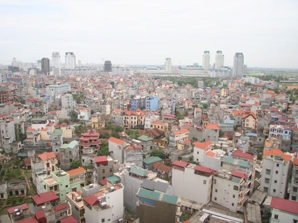 Giá đất ở tại các đô thị tối đa 162 triệu đồng/m2
