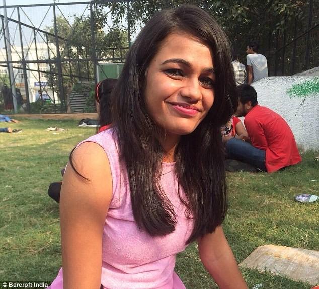 Bhavna, 21 tuổi là một sinh viên một trường đại học hàng đầu ở New Dehli