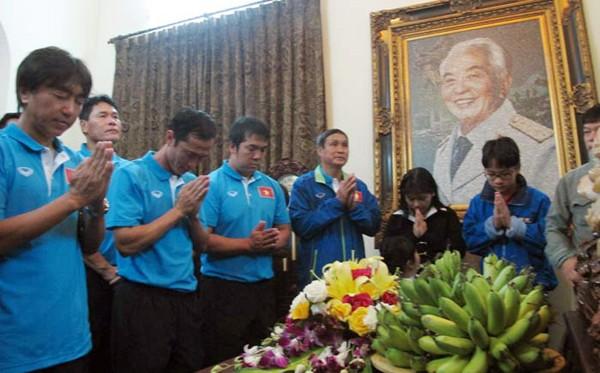 HLV Miura được tặng Huy hiệu Đại tướng Võ Nguyên Giáp ảnh 1