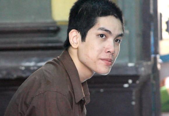 Bị cáo Huỳnh Minh Sang tại tòa phúc thẩm