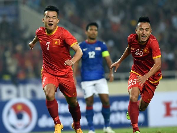 ĐT Việt Nam quyết thắng trong trận đấu với Indonesia tối nay ở Mỹ Đình Ảnh: QUANG THẮNG