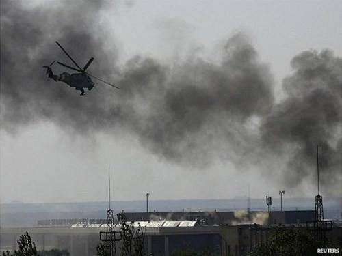 Donetsk đề xuất thiết lập khu phi quân sự tại sân bay Donetsk ảnh 1
