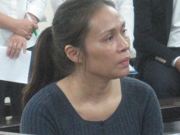 Bị cáo Nguyễn Thị Nam Phương tại phiên tòa