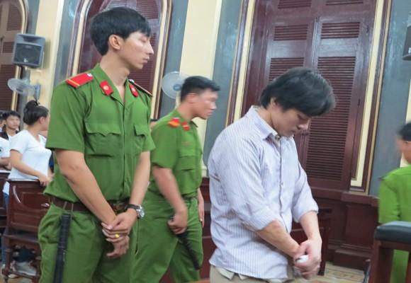 Bị cáo Võ Khánh Khoa tại tòa