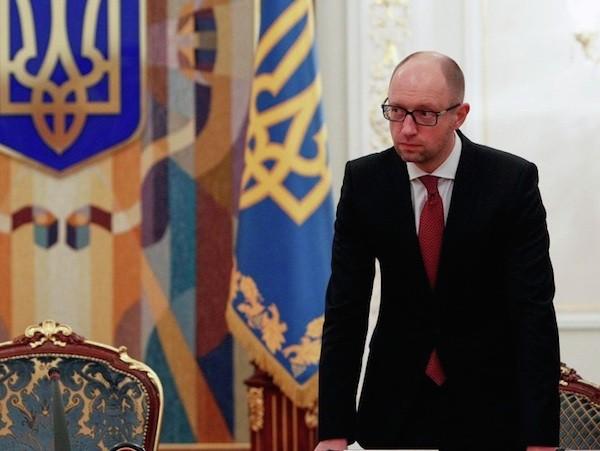Thủ tướng Ukraine, Arseniy Yatsenyuk
