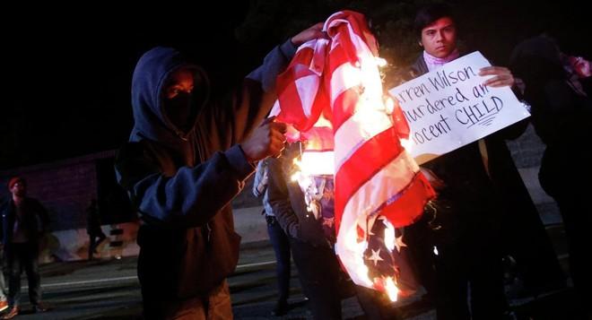 Biểu tình lại bùng phát tại thành phố Ferguson (Mỹ)