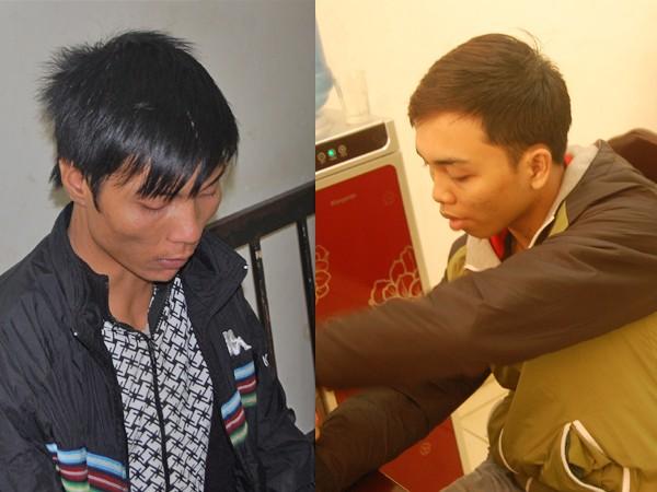 Hai đối tượng Dương và Ngọc Anh bị bắt giữ