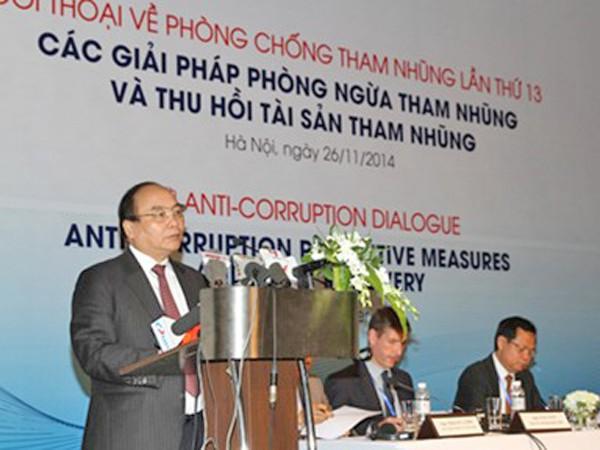 Phó Thủ tướng Nguyễn Xuân Phúc: Các giải pháp phòng ngừa tham nhũng đã phát huy tác động tích cực